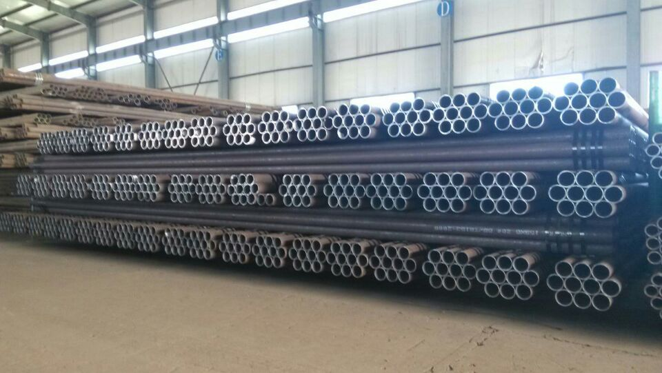 Seamless steel pipe for fluid transport2