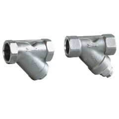 Y-strainers (with plug)