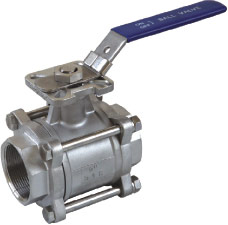 3pc ball valve with