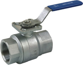 2pc ball valve with