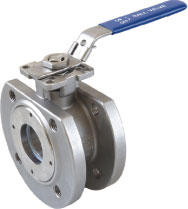 1pc wafer flanged ball valve(DIN)