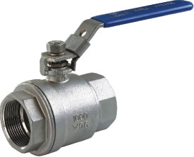 2pc light duty ball valve