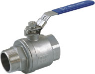 2pc ball valve MF