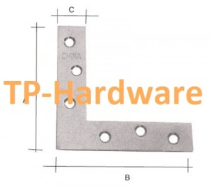 L Flat Steel Brackets And Connector For Wood